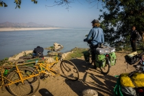 Overlooking the Irrawaddy