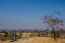 Great views of dry Myanmar