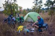 2nd night camping Myanmar