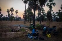 3rd night camping in Myanmar