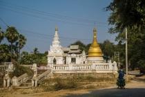 Myanmar pagoda's