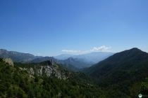 On our way to Coll de Boixols.
