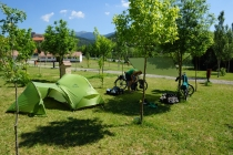 Restday in Anso after 13 km bikeride.