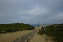 First views of the Atlantic Ocean.