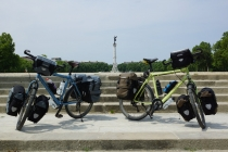 Our bikes, they have done well!