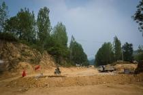 Chinese roads... roadworks