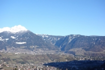 Great views of the lowlands and mountains of Italy