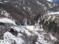 Great views descending Resschen Pass