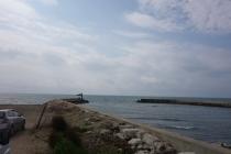 First view of Mediterranean!