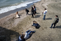 Photo shoot on the beach