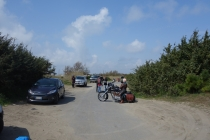 Motorcyclists we met on the road