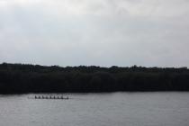 Rowing competition at Sabaudia