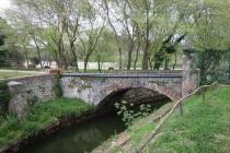 Bridge close to Lago di Paola