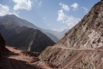 Rough roads and great mountains