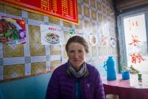 In restaurant in Seda