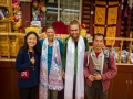 Larung Gar visit to monk