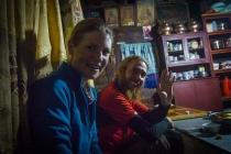 Staying in Tibetan home