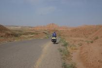 Cycling in a tough headwind