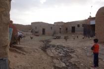 The mud brick house (farm area)