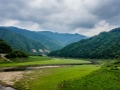 River flowing from North Korea. This is now an ecological zone.