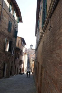 Small streets in Siena