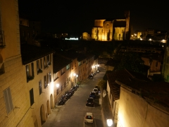 Siena by night