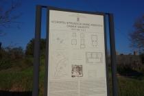Necropolis sign