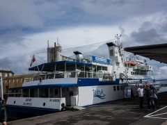 Ferry to cross from Poland to Bornholm, 4 hours...