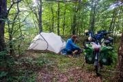 Wild camping in Bulgaria