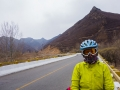 Chilly descent so protecting our eyes with goggles. -5