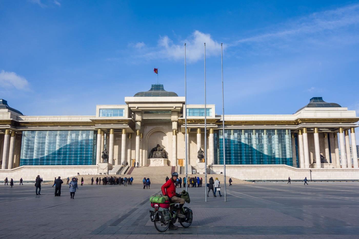 Martin in Ulaanbaatar