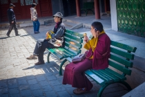 Monk at Yonghe Lama temple