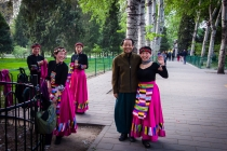At the gardens of the temple of heaven
