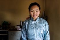 Hangai, daughter of family