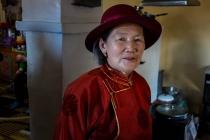 70 year old mother of Tseegii