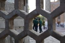 Guards at The Registan