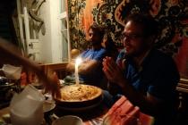 Celebrating Brices birthday