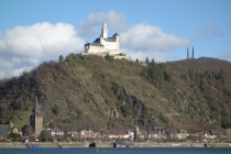 Castles and fortresses along the Rhein