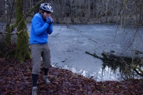 Schonbucher Wald with ice