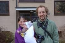 Warmshowers host Sonja, Sebastian and Maya
