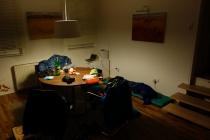 Sleeping in office Tubingen