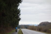 Alps on way to Bodensee