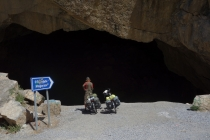 A cave on the road side