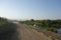 View at camp spot near Shahin Dez