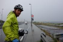 Rain and traffic, great cycling...