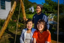 Ajeossi, Ajumma and Korean WWOOFer