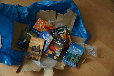 Lonely planet books journey