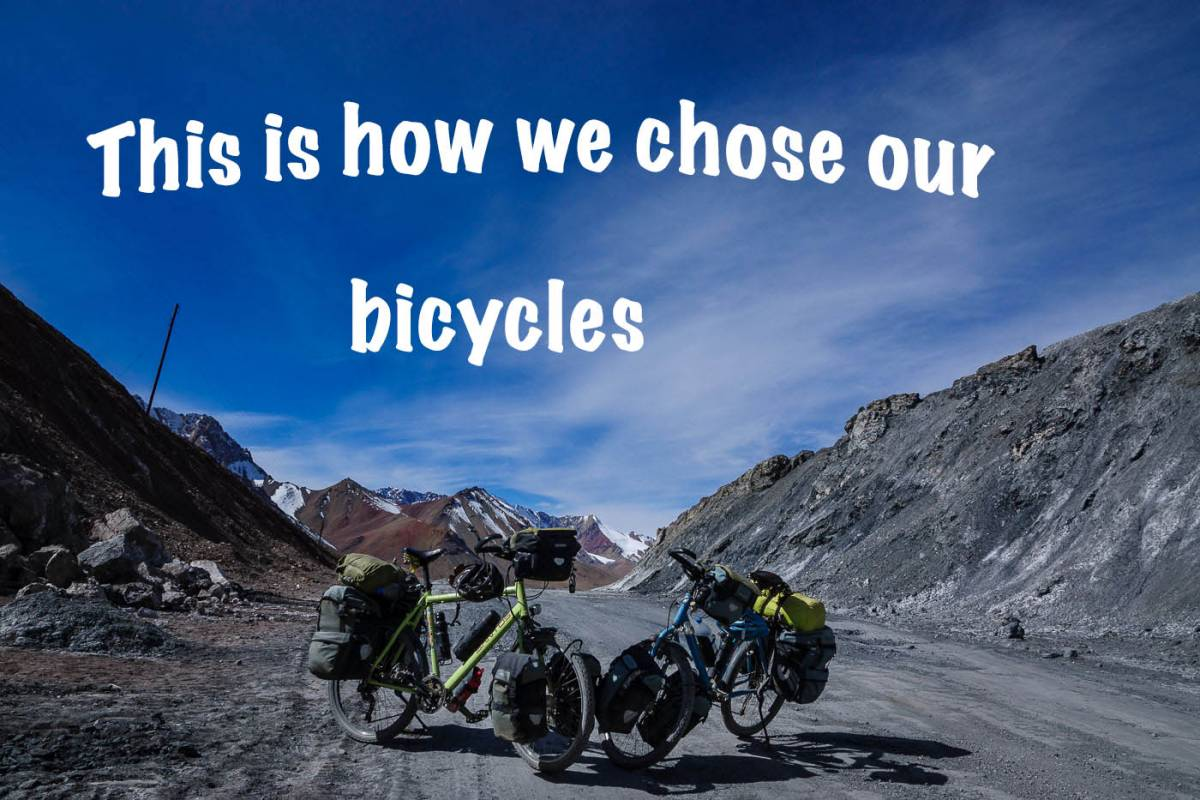 chose our bicycles