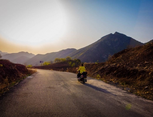 The backroads of Eastern China