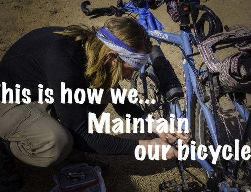 This is how we maintain our bicycles